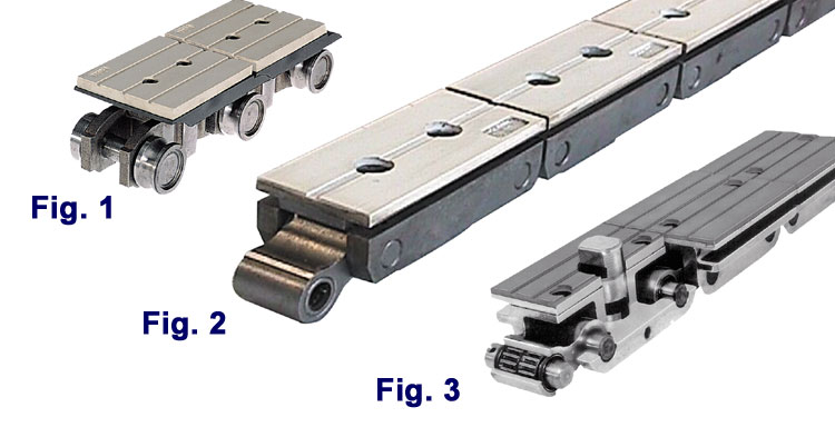 Woodworking Equipment - Track Pads, Friction Pads, Chain